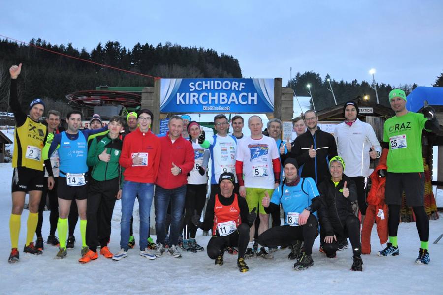 Snowhillrun in Kirchbach