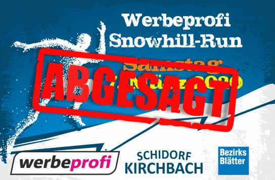 ABGESAGT: Snowhill-Run 2020